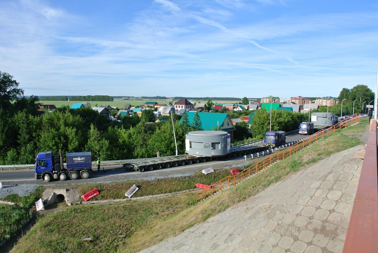 Перевозка тяжеловесных грузов в России, Беларуси, Казахстане, Узбекистане