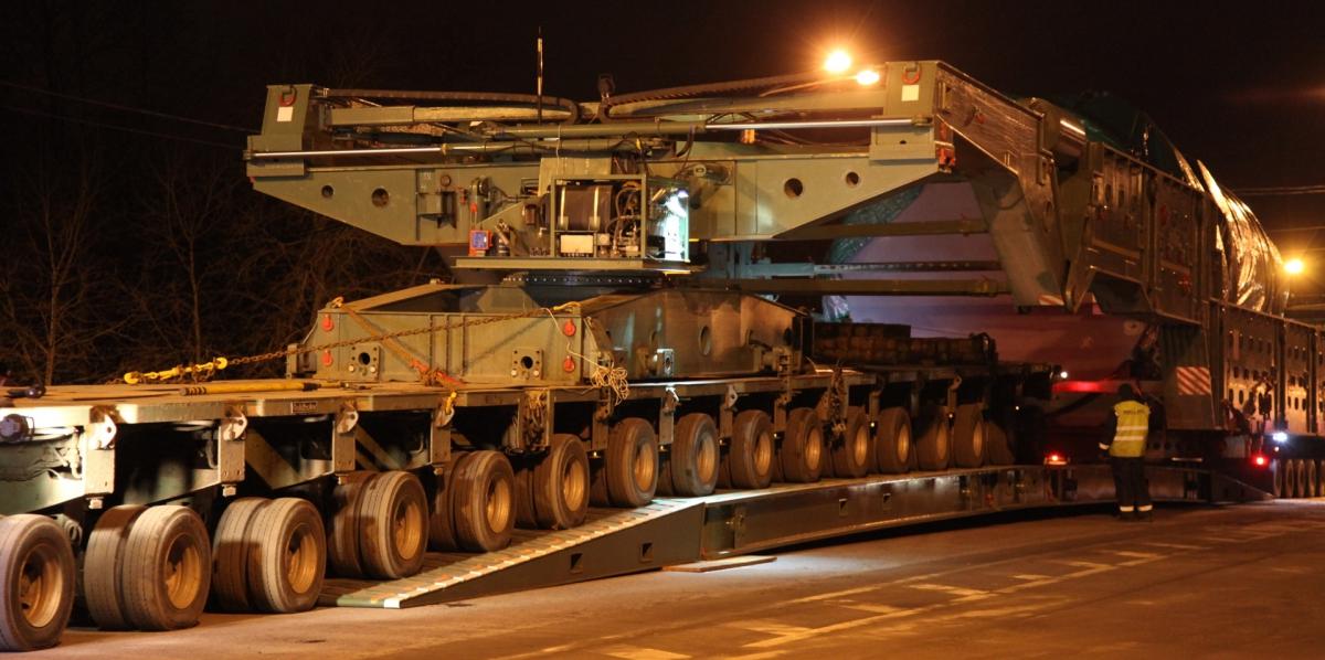 Перевозка негабаритных и тяжеловесных грузов автотранспортом в России, Беларуси, Казахстане, Узбекистане